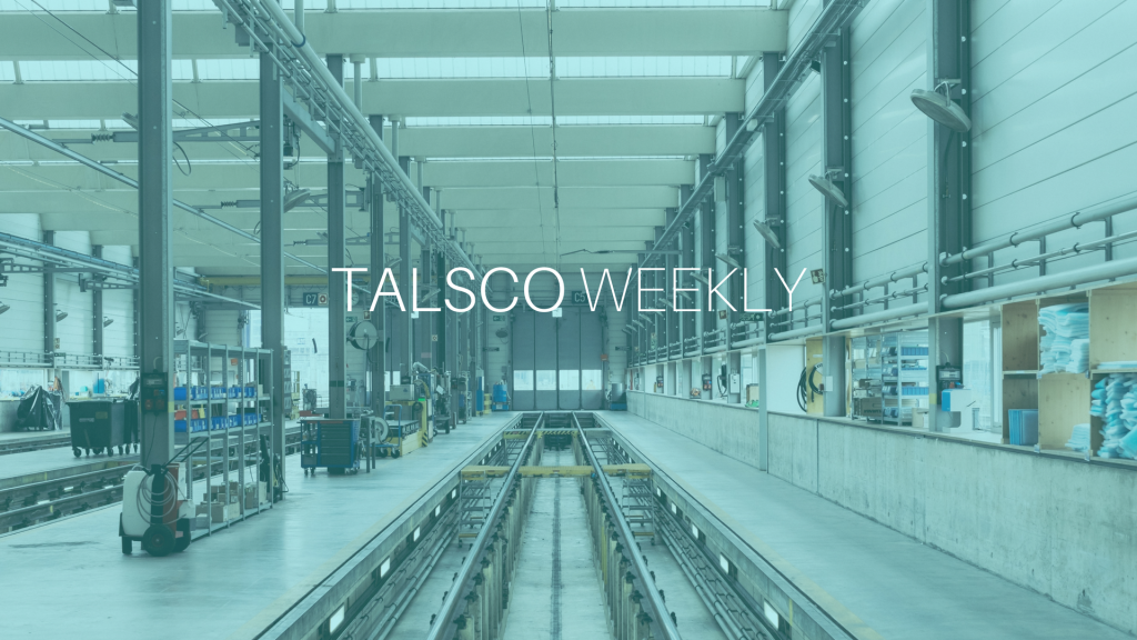 Talsco Weekly- Presentation (engineeringmanufacturing)