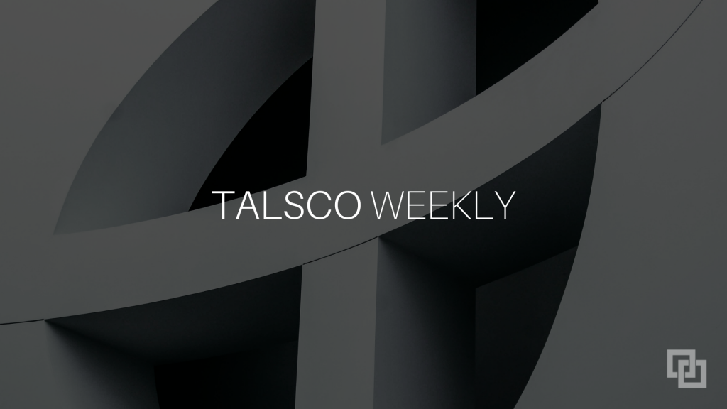 Talsco Weekly August 8th