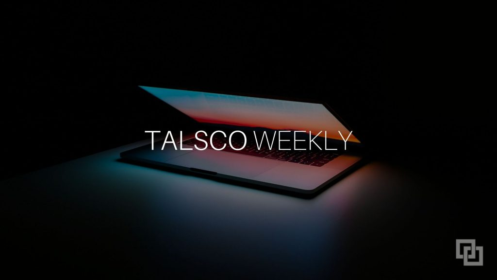 talsco weekly newsletter for IBM i