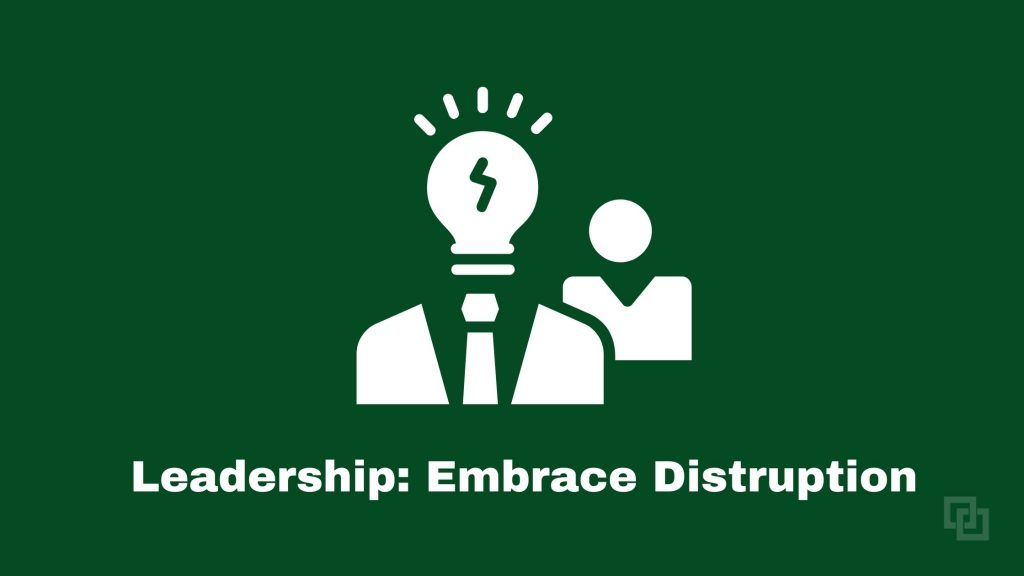 IBM i Leadership must embrace disruption