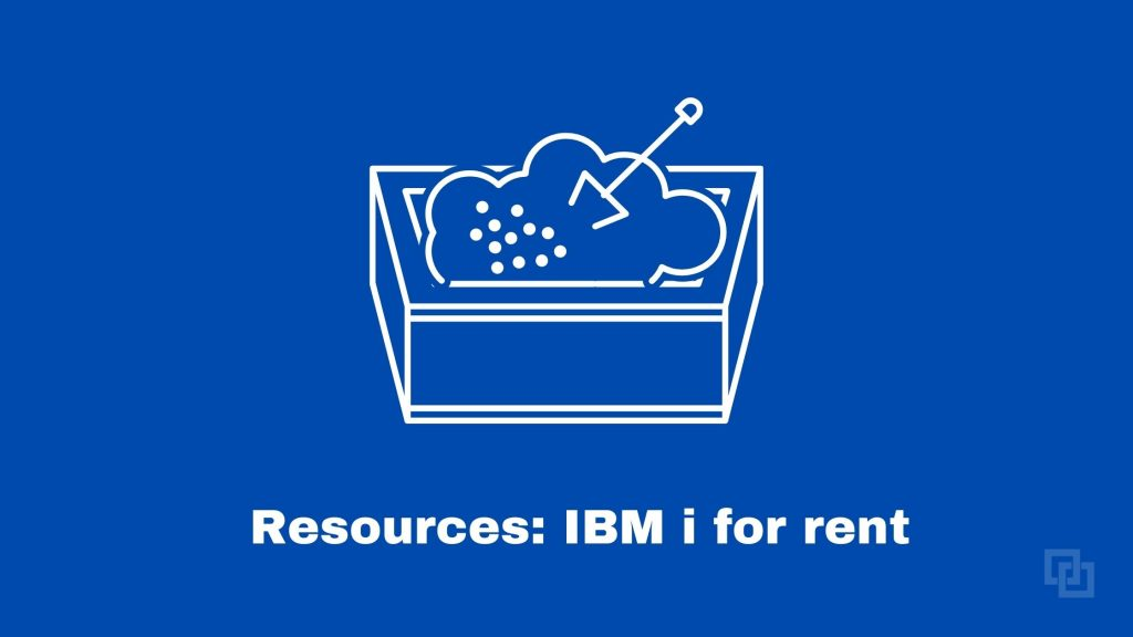 Renting space on an IBM i